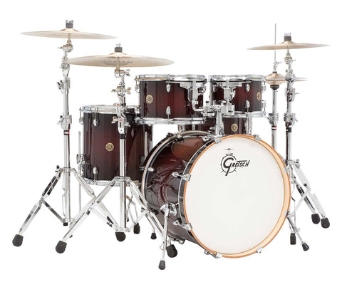 Gretsch Drums Catalina Maple 5-Piece Drum Shell Bundle - Deep Cherry Burst CM1-E605-DCB