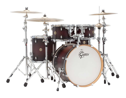 Gretsch Drums Catalina Maple 5-Piece Drum Shell Pack Satin Deep Cherry Burst CM1-E605-SDCB