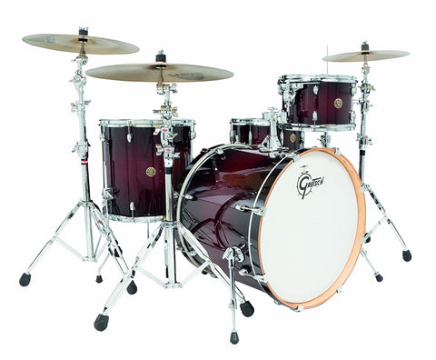 Gretsch Drums Catalina Maple 4-Piece Drum Shell Pack Deep Cherry Burst CM1-E824S-DCB