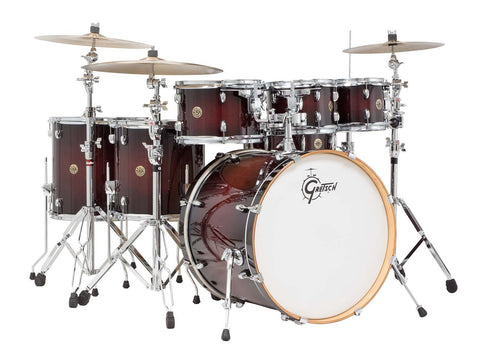 Gretsch Drums Drums Catalina Maple 6-Piece Drum Shell Pack, Deep Cherry Burst