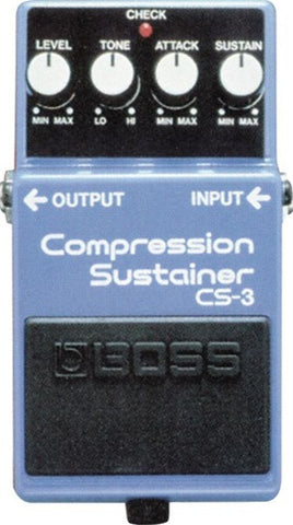 Boss CS 3 Compression Sustainer - L.A. Music - Canada's Favourite Music Store!