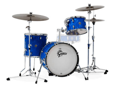 Gretsch Drums Catalina Club 3 Piece Drum Kit Blue Flame CT1-J483-BSF