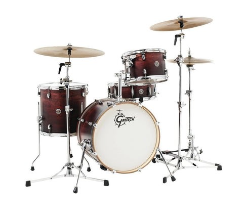 Gretsch Drums Catalina Club 4 Piece Drum Shell Pack Satin Antique Fade CT1-J484-SAF