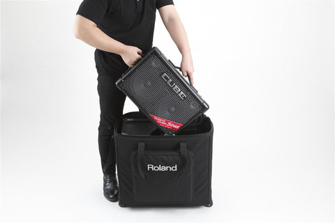 Boss Battery Powered Stereo PA System With CB-CS2 Carry Case - L.A. Music - Canada's Favourite Music Store!