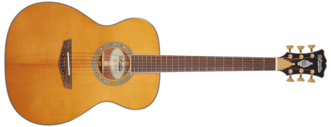 D'Angelico Excel Tammany XT Orchestra ALL SOLID Acoustic / Electric Guitar Vintage Natural DAEOMXTVNATGP