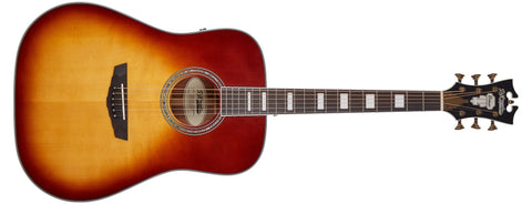 D'Angelico Premier Lexington Acoustic / Electric Guitar, Iced Tea Burst DAPD300ITBAPS