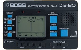 Boss By Boss DB 60 Dr. Beat Metronome - L.A. Music - Canada's Favourite Music Store!
