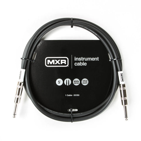 Dunlop MXR 5 foot Instrument Cable DCIS05