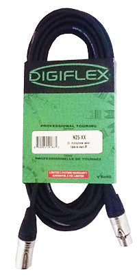 Digiflex N25-XX Microphone Cable Professional Touring - L.A. Music - Canada's Favourite Music Store!