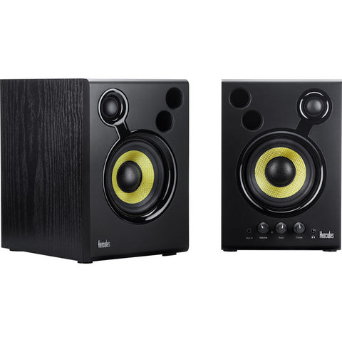 "Hercules 4"" Active Multimedia Speakers Pair DJMONITOR-42"