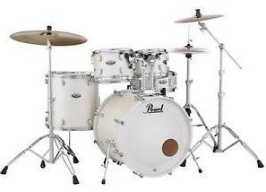 Pearl Decade Maple 5-piece Shell Pack - White Satin DMP925SPC229