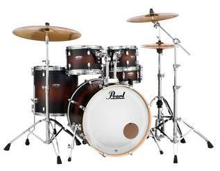 Pearl Decade Maple 5-piece Shell Pack - Satin Brown Burst Item ID: DMP925SPC260