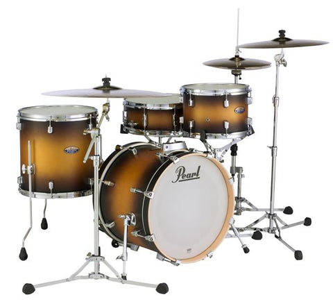 "Pearl Decade Maple Series 4-Piece Bop Shell Pack w/ 18"" Bass Drum - Satin Sahara Burst DMP984PC223"