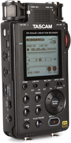 TASCAM DR-100MKIII DIGITAL RECORDER