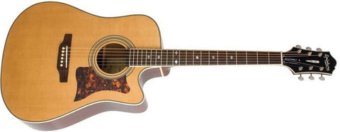 "Epiphone DR500 Masterbilt Acoustic/Electric "" Antique Natural DR500MCENANH - L.A. Music - Canada's Favourite Music Store!"