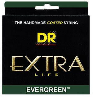 DR EGE-9 Evergreen Extra Life Electric Guitar Strings Green 9-42