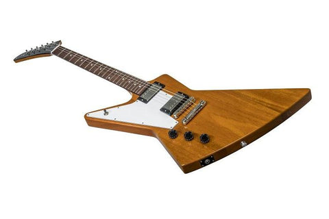 Gibson Explorer 2018 Antique Natural w/ Hard Shell Case Left Handed - L.A. Music - Canada's Favourite Music Store!