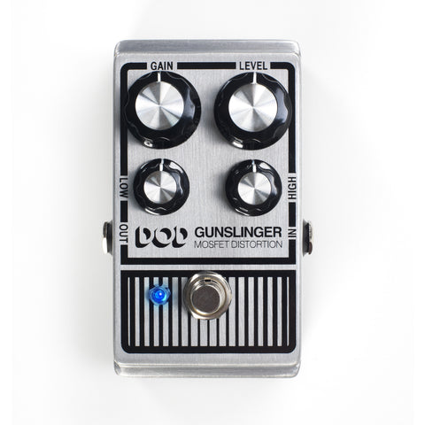 DigiTech DOD Gunslinger Mosfet Distortion - L.A. Music - Canada's Favourite Music Store!