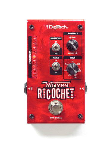 DigiTech Whammy Ricochet  Pitch Shift Pedal - L.A. Music - Canada's Favourite Music Store!