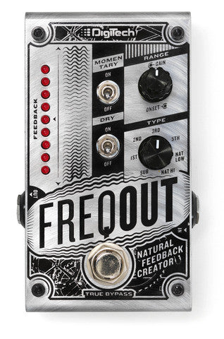Digitech FREQOUT Natural Feedback Creator Pedal - L.A. Music - Canada's Favourite Music Store!