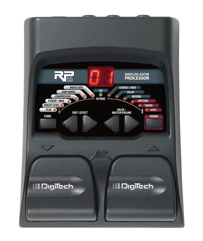 Digitech RP55 Guitar Multi Effects Pedal - L.A. Music - Canada's Favourite Music Store!