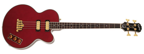Epiphone Allen Woody Bass Wine Red EBAWWRGH - L.A. Music - Canada's Favourite Music Store!