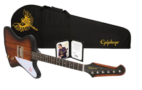"Epiphone Limited Edition Joe Bonamassa ""Treasure"" Firebird -I Outfit Tobacco Sunburst"