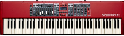 NORD Semi-Weighted Waterfall Action 73 Key Keyboard ELECTRO6D73