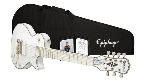 Epiphone Limited Edition Matt Heafy Ltd. Ed. Snofall Les Paul 7 String Outfit ELMH7AWNH - L.A. Music - Canada's Favourite Music Store!