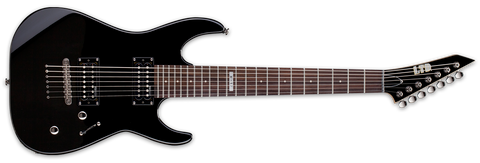 ESP LTD M17 7 STRING BLACK - L.A. Music - Canada's Favourite Music Store!