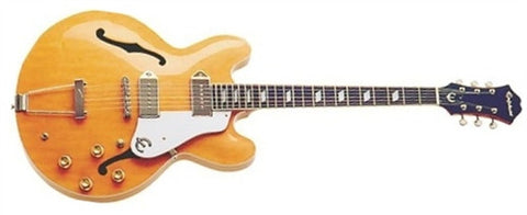 Epiphone Casino Semi Hollow Body Electric Guitar Natural ETCANACH - L.A. Music - Canada's Favourite Music Store!