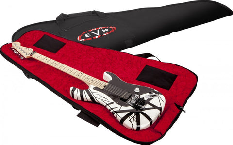 EVH Padded Gig Bag - Black With Red Interior - L.A. Music - Canada's Favourite Music Store!