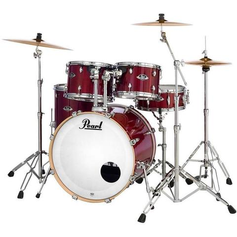 Pearl EXL725SPC246 2218B-1007T-1208T-1616F-1455S 5 pc shell pack Natural Cherry