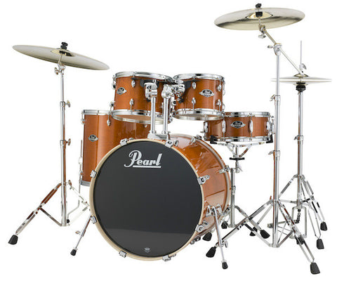 Pearl EXL725SPC249 Drum Kit 5 piece shell pack Amber