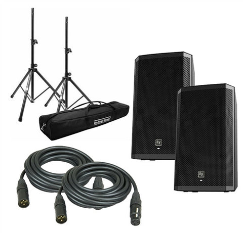 Electro-Voice ZLX 12P PACKAGE1 12-inch Two Way Powered Loudspeaker - L.A. Music - Canada's Favourite Music Store!