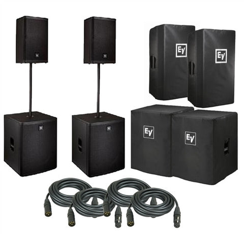 Electro-Voice ZLX 15P PACKAGE2 15-inch Two Way Powered Loudspeaker - L.A. Music - Canada's Favourite Music Store!
