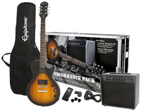 Epiphone Les Paul Special II Performance Pack Sunburst ELPJVSCHPRP - L.A. Music - Canada's Favourite Music Store!
