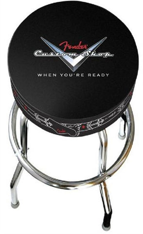 Fender 30'' Custom Shop Logo Barstool 0990210010 - L.A. Music - Canada's Favourite Music Store!