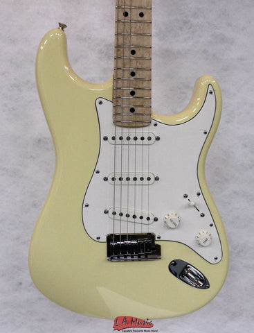 Fender Custom Shop #074 2014 Proto Strat'' Maple Fretboard Aged Vintage White 1501522895 - L.A. Music - Canada's Favourite Music Store!