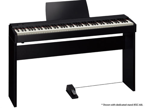 Roland F20WS Digital Piano With Stand - Contemporary Black
