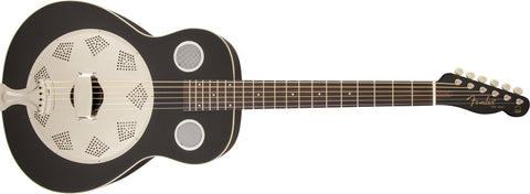 Fender Top Hat Resonator, Rosewood Fingerboard, Black 955006006 - L.A. Music - Canada's Favourite Music Store!