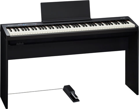 Roland FP-30-BKWS Digital Piano Black With Stand (KSC-70-BK)