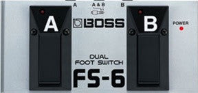 Boss FS 6 Dual Footswitch - L.A. Music - Canada's Favourite Music Store!