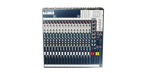 Soundcraft 16-Channel Mixer with Lexicon Effects Processor FX16II