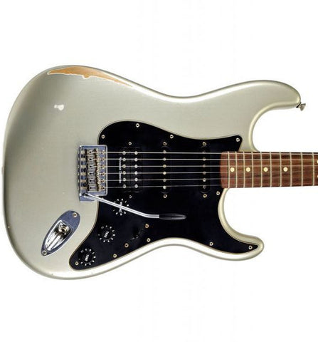 Fender Road Worn Player Strat HSS Rosewood Inca Silver Electric Guitar 0131610324 - L.A. Music - Canada's Favourite Music Store!