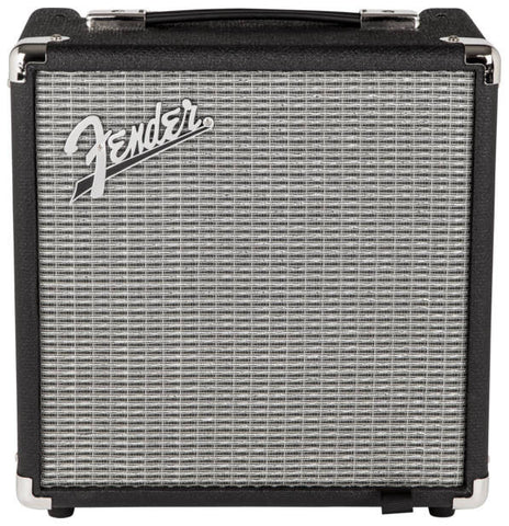 Fender Rumble 15 (V3), 120V, Black/Silver 2370100000 - L.A. Music - Canada's Favourite Music Store!