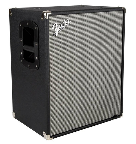 Fender Rumble 210 Cabinet (V3), Black/Silver 2380100000 - L.A. Music - Canada's Favourite Music Store!