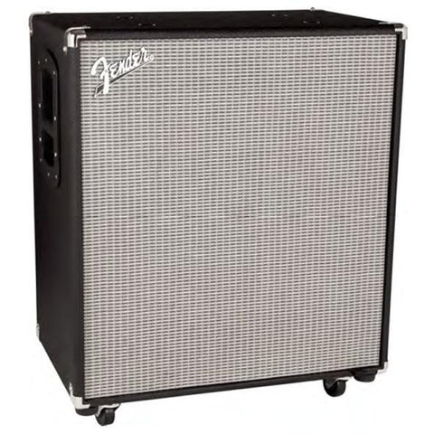 Fender Rumble 410 Cabinet (V3), Black/Silver 2270900000 - L.A. Music - Canada's Favourite Music Store!