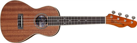 Fender Ukulele Mino'Aka - Concert, Natural 955650021 - L.A. Music - Canada's Favourite Music Store!