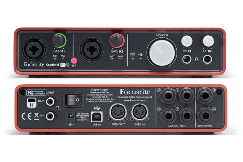 Focusrite Scarlett 6i6 USB Audio Interfaces - L.A. Music - Canada's Favourite Music Store!